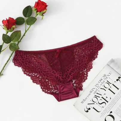 Crochet Lace Hollow Out Panty