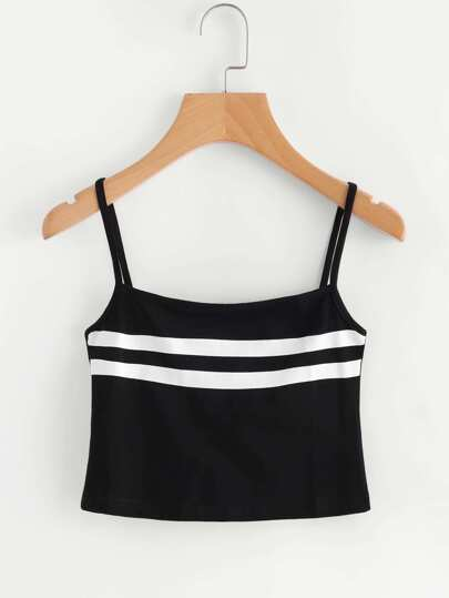 Camisole à rayures