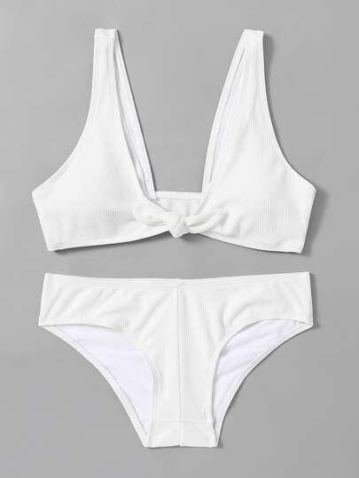 Ensemble de Bikini avec nœud