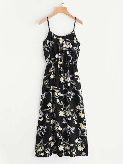 Vestito camisole floreale