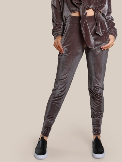 Sweat-pantalons en velours