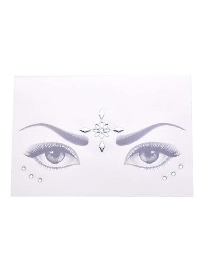 Pegatinas para los ojos de maquillaje