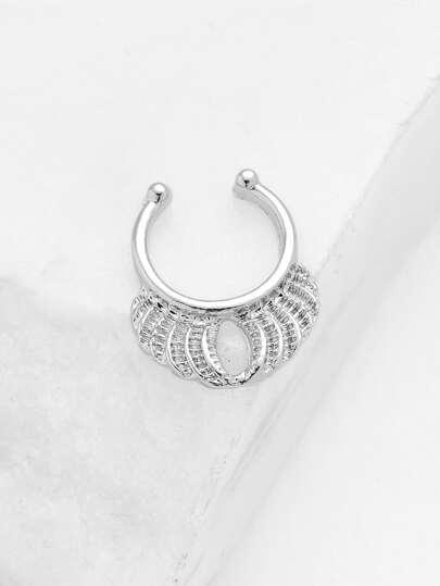 Crown Design Nose Ring