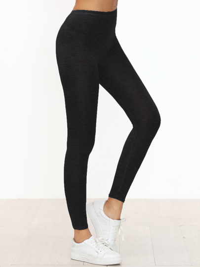 Leggings Casual Skinny Nero