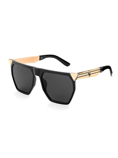 Gafas de sol extragrande con parte superior plana