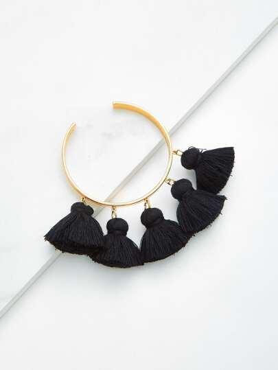 Tassel Cuff Bracelet