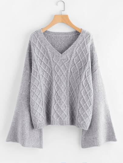 Pullover mit Flötehülse