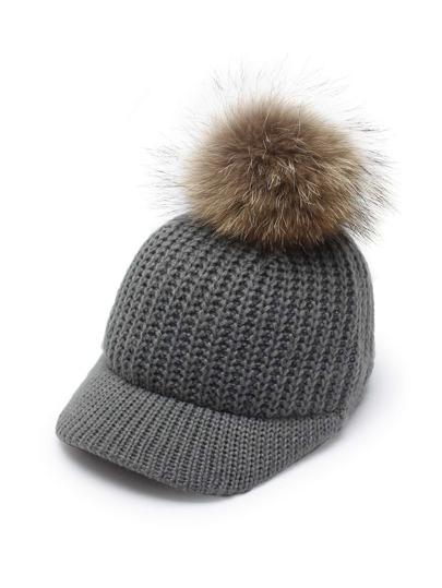 Cappellino in maglia