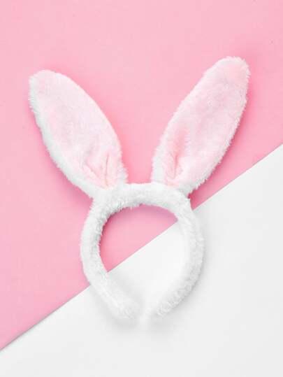 Diadema con oreja de conejo