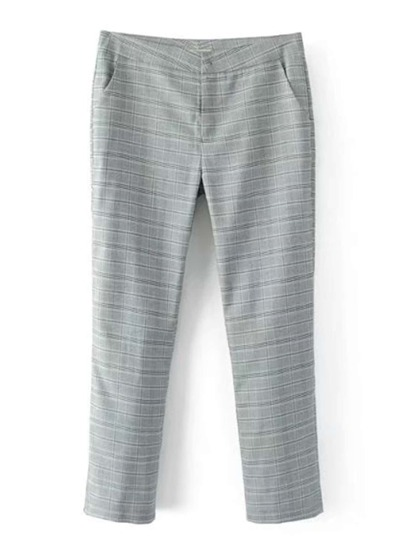 Pantalones a cuadros
