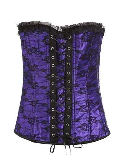 Set di corsetto con laccetti