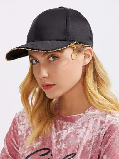 Zipper Edge Baseball Cap