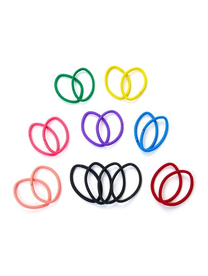 8 Color Hair Tie Set 18pcs