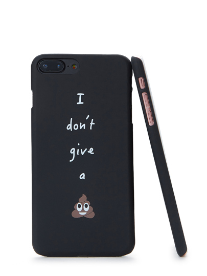 Funda de iPhone con slogan