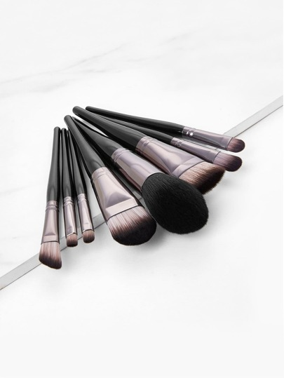 Metallic Detail Make-up Pinsel Set 9pcs