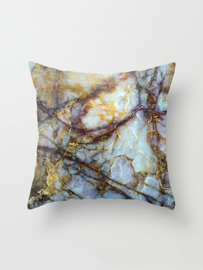 Stone Print Pillowcase Cover