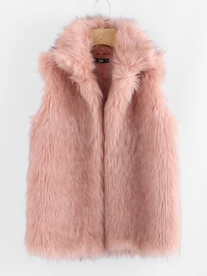 Cappotto di pelliccia ecologica