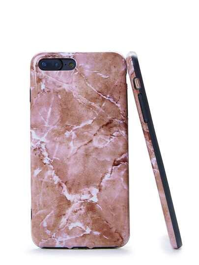 Funda de Iphone con estampado de mármol