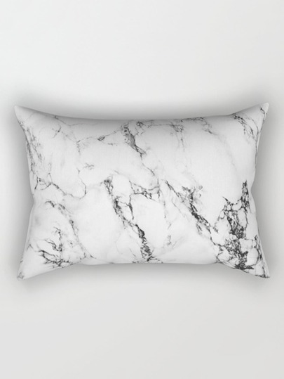 Marble Print Pillowcase Cover