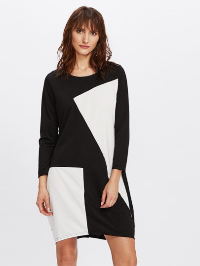 Cut And Sew Pocket Side Dress