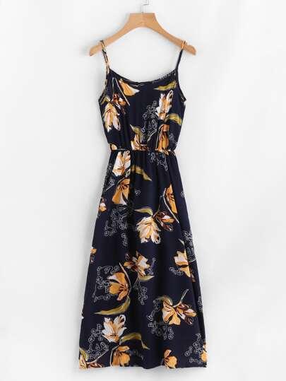 All Over Florals Cami Dress