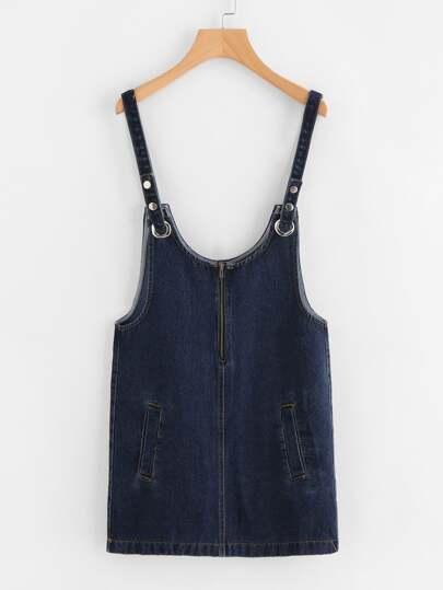 Salopette di vestito di jeans