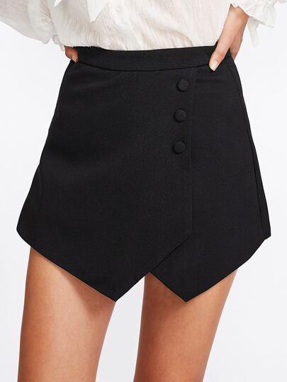 Pantaloncini asimmetrici