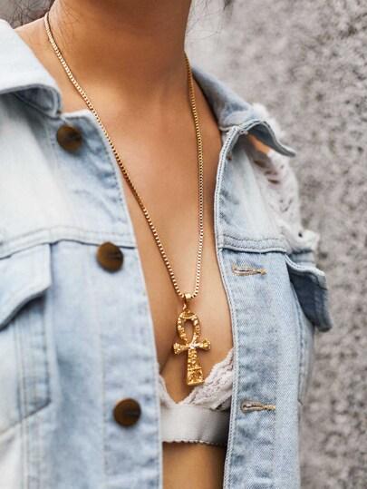Cross Pendant Chain Necklaces