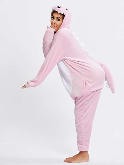 Dinosaur Pyjama Jumpsuit