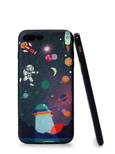 Funda de iPhone con dibujos animales