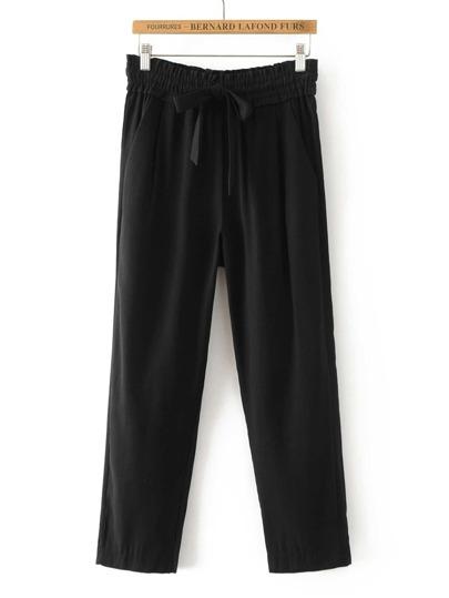 Tie Waist Tailored Pants