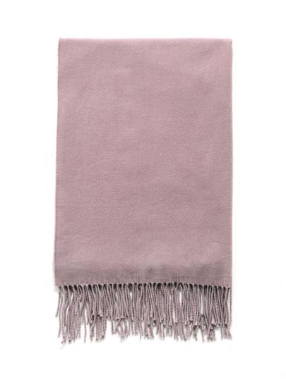 Decke Schal mit Fransen Detail
