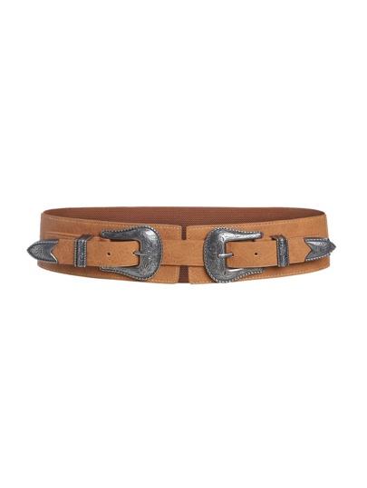Double Buckle Elastic Belt