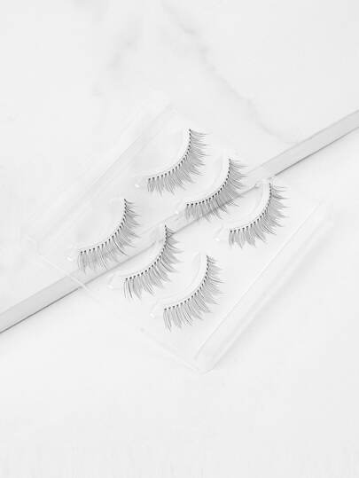 Natural Thin False Eyelash 3pairs