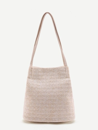 Straw Woven Shoulder Bag