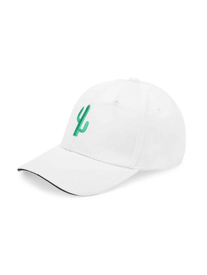Cactus Embroidery Baseball Hat