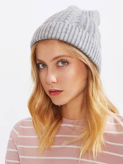 Cabl Knit Beanie