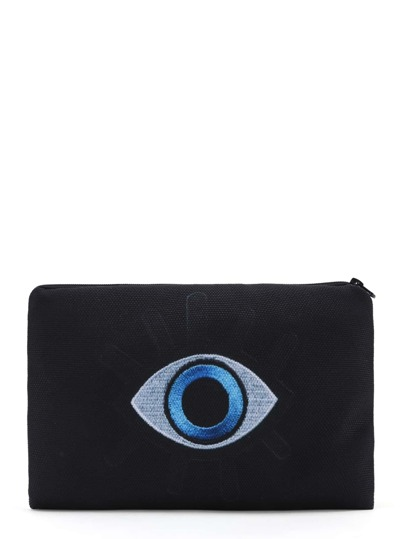 Eye Pattern Accessory Case