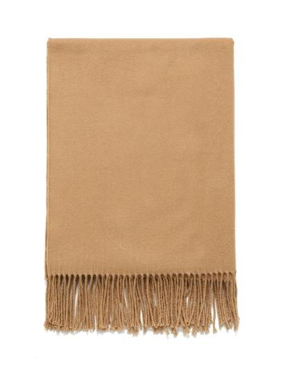 Fringe Detail Blanket Scarf