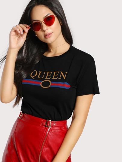 Camiseta con queen