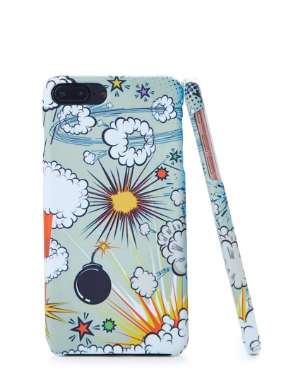 Cartoon Pattern iPhone Case