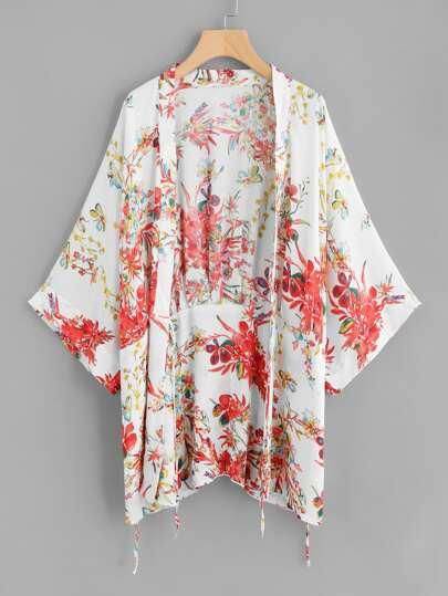 Kimono con planta