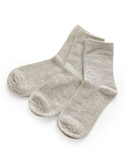 Calcetines tobilleros de algodón minimalismo