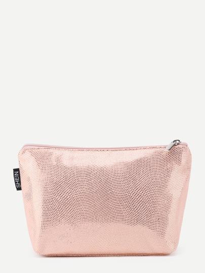 Sac cosmétique avec le zip