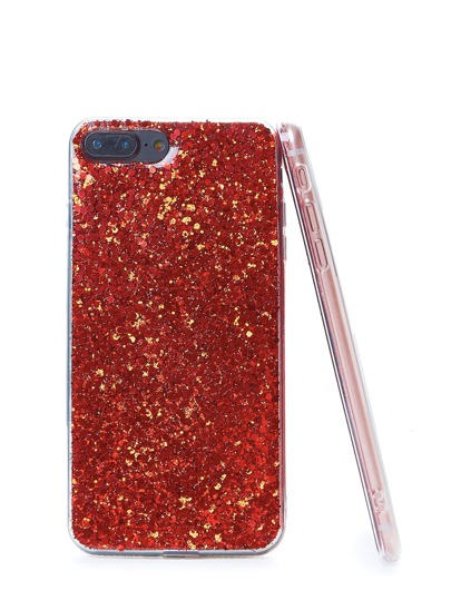 Sequin Overlay iPhone Case