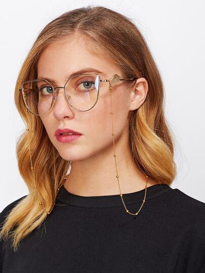Chaîne de lunettes de conception en perles