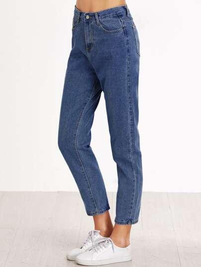 Jeans mit geradem Beinschnitt