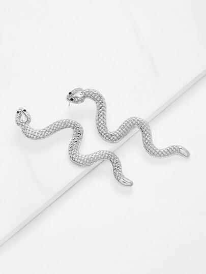 Snake Design Cute Earrings