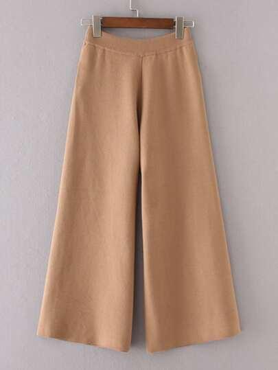 Pantalones con pernera ancha