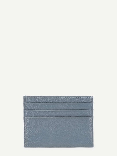 Coque de carte de minimaliste en PU